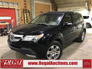 Used 2008 Acura MDX 4D Utility 4WD for sale in Calgary, AB