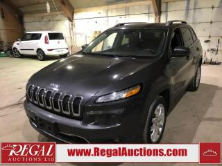 Used 2016 Jeep Cherokee Limited 4D Utility FWD for sale in Calgary, AB