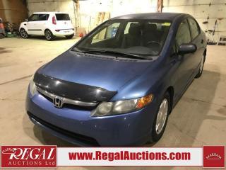 Used 2008 Honda Civic DX-G 4D Sedan for sale in Calgary, AB