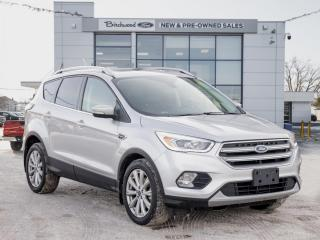Used 2017 Ford Escape Titanium CLEAN CARFAX | MOONROOF for sale in Winnipeg, MB