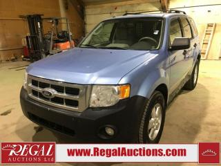 Used 2012 Ford Escape XLT 4D Util 4CYL AT for sale in Calgary, AB