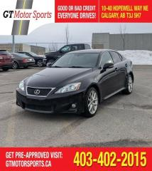 Used 2013 Lexus IS 250 | $0 DOWN - EVERYONE APPROVED! for sale in Calgary, AB