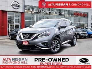 Used 2018 Nissan Murano SL AWD   360CAM   Leather   BSW   PWR Liftgate for sale in Richmond Hill, ON