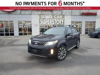 Used 2015 Kia Sorento SX, AWD, Navigation, Leather, Sunroof. for sale in Niagara Falls, ON