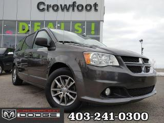 Used 2015 Dodge Grand Caravan 30TH ANNIVERSARY WITH LEATHER & REAR DVD for sale in Calgary, AB