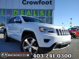 Used 2016 Jeep Grand Cherokee LIMITED WITH HEMI 4X4 for sale in Calgary, AB