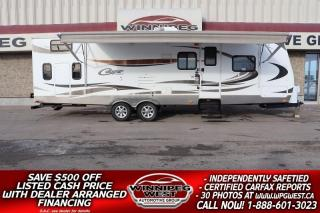 Used 2012 Keystone RV Cougar Half-Ton 29BHSWE 33FT BUNK HOUSE, POLAR PACKAGE, SLEEP 10 for sale in Headingley, MB