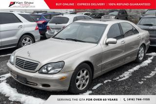 Used 2002 Mercedes-Benz S-Class for sale in Toronto, ON