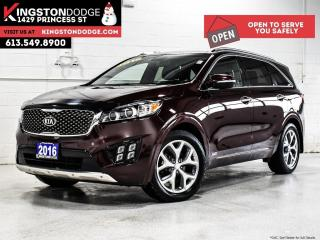 Used 2016 Kia Sorento SX   AWD   Heated Leather Seats   Remote Start for sale in Kingston, ON