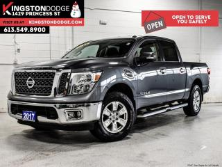 Used 2017 Nissan Titan SV   Crew CAB   4X4   ONE Owner for sale in Kingston, ON