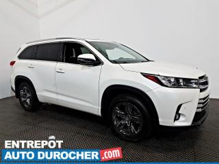 Used 2017 Toyota Highlander Limited AWD 7 Pass NAV. -Toit Ouvrant - A/C - CUIR for sale in Laval, QC