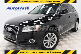 Used 2017 Audi Q5 2.0T PROGRESSIV *GPS/CAMERA *TOIT-PANO/ROOF for sale in Saint-Hubert, QC