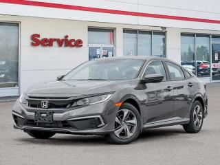 New 2021 Honda Civic Sedan LX CVT for sale in Brandon, MB