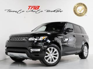 Used 2017 Land Rover Range Rover Sport HSE GAS I PANO I 20 IN WHEELS I MERIDIAN for sale in Vaughan, ON