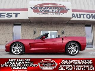 Used 2008 Chevrolet Corvette SUPERCHARGED 600+HP 3LT, PWR TOP, FLAWLESS & SHARP for sale in Headingley, MB