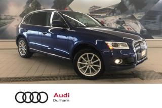 Used 2017 Audi Q5 2.0T Technik + Side Assist | Pano Roof | Rear Cam for sale in Whitby, ON