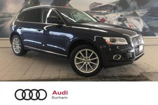 Used 2017 Audi Q5 2.0T Technik + Pano Roof | Side Assist | Rear Cam for sale in Whitby, ON