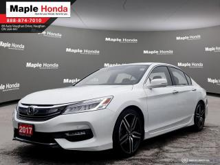 Used 2017 Honda Accord Touring|Leather Seats|Navigation|Auto Start|Front for sale in Vaughan, ON