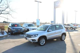 Used 2017 Volkswagen Tiguan 2.0T WOLFSBURG EDITION 4MOTION for sale in Whitby, ON