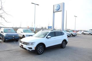Used 2019 Volkswagen Tiguan 2.0T Comfortline 4Motion for sale in Whitby, ON