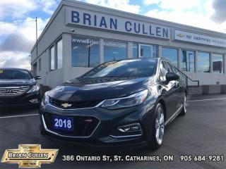 Used 2018 Chevrolet Cruze Premier for sale in St Catharines, ON