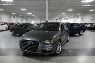Used 2016 Audi A3 QUATTRO NO ACCIDENTS I LEATHER I SUNROOF I HEATED SEATS I BT for sale in Mississauga, ON