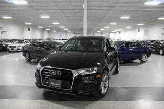 Used 2017 Audi Q3 PROGRESSIV QUATTRO I PANOROOF I REAR CAM I HEATED SEATS I BT for sale in Mississauga, ON