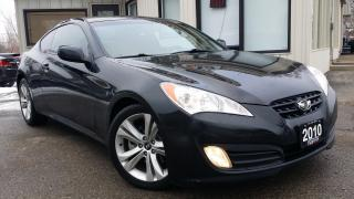 Used 2010 Hyundai Genesis Coupe 2.0 Auto - LEATHER! SUNROOF! BLUETOOTH! CERTIFIED! for sale in Kitchener, ON