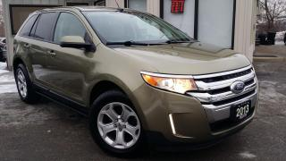 Used 2013 Ford Edge SEL FWD - NAV! BACK-UP CAM! REMOTE START! PARK SENSORS! for sale in Kitchener, ON