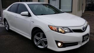 Used 2014 Toyota Camry HYBRID SE -ALLOYS! BACK-UP CAM! PUSH START! for sale in Kitchener, ON