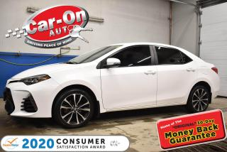 Used 2019 Toyota Corolla XSE | LEATHER | SUNROOF | ONLY 11,000 km for sale in Ottawa, ON