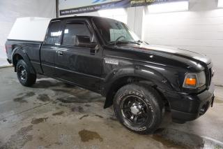 Used 2011 Ford Ranger V6 SPORT 5Spd CERTIFIED 2YR WARRANTY CRUISE AUX ALLOYS BED CAP TOW HITCH for sale in Milton, ON