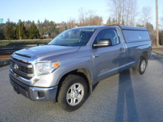 Used 2015 Toyota Tundra SR 5.7L V8 Regular Cab 4WD for sale in Burnaby, BC