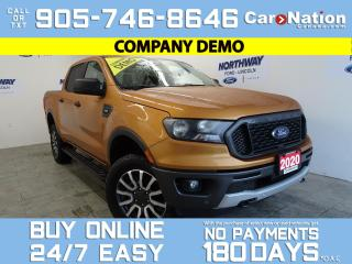 Used 2020 Ford Ranger XLT | 4X4 | SUPERCREW | 302A | TECH PKG for sale in Brantford, ON
