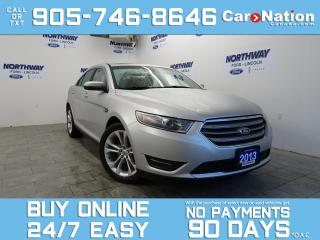 Used 2013 Ford Taurus SEL | SUNROOF | LEATHER | NAV | 201A | V6 for sale in Brantford, ON