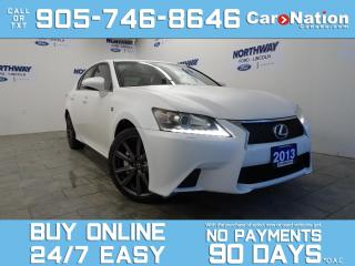 Used 2013 Lexus GS 350 F SPORT | AWD | LEATHER | SUNROOF | NAV for sale in Brantford, ON