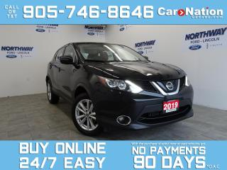 Used 2019 Nissan Qashqai SV | AWD | SUNROOF | REAR CAM | BLUETOOTH for sale in Brantford, ON