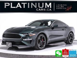 Used 2019 Ford Mustang BULLITT, V8, 480HP, MANUAL, CAM, HEATED/VENTED, BT for sale in Toronto, ON