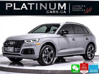 Used 2019 Audi Q5 2.0T QUATTRO TECHNIK, AWD, S-LINE, NAV, PANO for sale in Toronto, ON