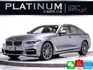 Used 2018 BMW 5 Series 530i xDrive, AWD, MSPORT, PREMIUM, NAV, CAM, APPLE for sale in Toronto, ON