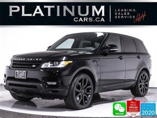 Used 2014 Land Rover Range Rover Sport SUPERCHARGED DYNAMIC 510HP, V8, MERIDIAN, NAV for sale in Toronto, ON