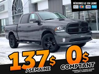 Used 2017 RAM 1500 SPORT  ''EDITION NIGHT'' CREW CAB for sale in Ste-Marie, QC