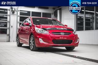 Used 2016 Hyundai Accent GLS chez Rimouski Hyundai for sale in Rimouski, QC