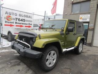 Used 2007 Jeep Wrangler 4 RM 2 portes Sahara for sale in Montréal, QC