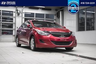Used 2013 Hyundai Elantra L chez Rimouski hyundai for sale in Rimouski, QC