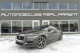 Used 2017 Jaguar XE 35T AWD - R SPORT - for sale in Québec, QC