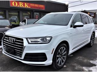 Used 2017 Audi Q7 Quattro-Progressiv-S Line-Navi-Toit Pano-Cam-7 pas for sale in Laval, QC