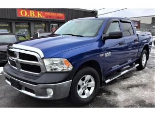 Used 2015 RAM 1500 4WD-Crew Cab-140.5-ST-5.7L HEMI-BLUETOOTH-GR ELECT for sale in Laval, QC
