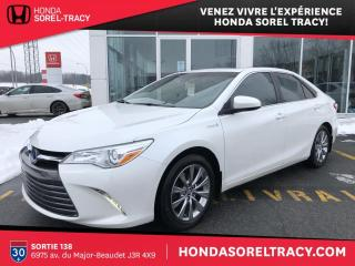 Used 2016 Toyota Camry HYBRID XLE HYBRID for sale in Sorel-Tracy, QC