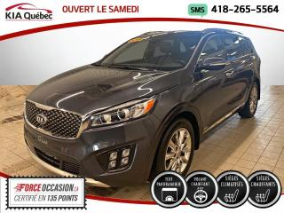 Used 2018 Kia Sorento ** SXL ** V6 * AWD * CUIR * TOIT * GPS * for sale in Québec, QC